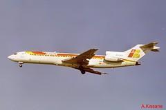 IBERIA B727 EC-DCD (Adrian.Kissane) Tags: airline airliner jet plane aircraft aeroplane arriving aviation flying flight ireland sky outdoors 21610 1999 b727 ecdcd dublinairport dublin iberia