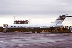 VR-BOO MD87 Fordair CVT 29-01-95 (cvtperson) Tags: vrboo md87 ford motor company coventry airport cvt egbe