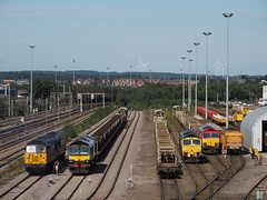 56049 66779 66512 66114 doncaster 05/09/2019 (Offroadanonymous) Tags: 56049 66779 66512 66114 doncaster