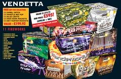 NEW FOR 2019 - Vendetta DIY Firework Barrage Pack (EpicFireworks) Tags: new for 2019 vendetta diy firework barrage pack
