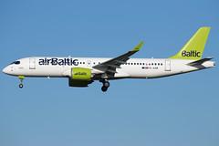 Air Baltic A220-300 YL-AAR (wapo84) Tags: eham ams airbaltic a220 cs300 cseries ylaar