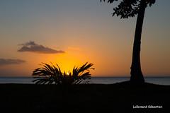 Coucher de soleil à Moorea