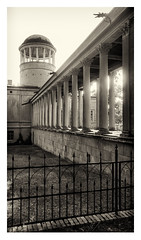 Lindstedt Palace in Potsdam (Germany) (werner.marx.kell) Tags: lindstedtpalace schlosslindstedt lindstedt potsdam smartphone galaxys7 blackandwhite bw