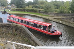 "Canal Boat ""Westmorland"" (Ray's Photo Collection) Tags: canal narrowboat brighouse calderandhebblenavigation westmorland basin west yorkshire yorks"