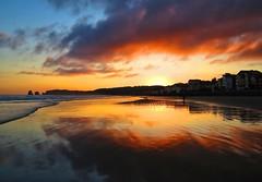 Fantastico amanecer en Hendaia (eitb.eus) Tags: eitbcom 16599 g1 tiemponaturaleza tiempon2019 amanecer iparralde hendaye josemariavega