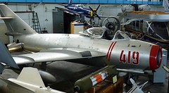 "MiG-17 Fresco 1 • <a style=""font-size:0.8em;"" href=""http://www.flickr.com/photos/81723459@N04/48721103458/"" target=""_blank"">View on Flickr</a>"