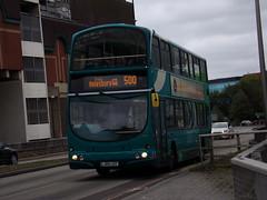 Arriva VDL DB250 (Wright Gemini) 6043 LJ04 LGY (Alex S. Transport Photography) Tags: bus outdoor road vehicle arriva arrivatheshires arrivamidlands vdl db250 wright gemini route500 6043 lj04lgy