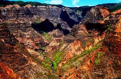 Waimea Canyon, Kauai, Hawaii (klauslang99) Tags: klauslang waimea canyon hawaii landscape mountains kauai