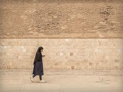 Walking (Saurí) Tags: street streetphotography persia woman girl walking lovetoiran