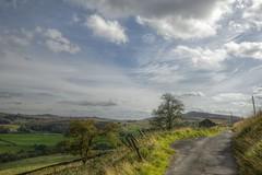 BurntcliffTop (Tony Tooth) Tags: nikon d600 tamron 2470mm countryside hdr sky cloud road countrylane burntclifftop cheshire england