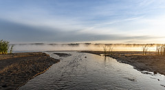 At The End (Kevin Tataryn) Tags: creek mouth river ottawariver canada hudson quebec landscape mist morning sunrise beach nikon d500 zeiss milvus 18mm distagon