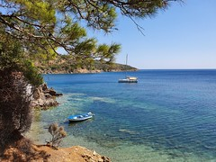 St. Hermogenes Beach, Lesbos (Dumby) Tags: landscape charamida lesbos greece hellas travel beach summer seascape aegean sea
