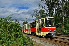 Tatra KT4D #001 Prototyp ViP Potsdam Poczdam (3x105Na) Tags: tatra kt4d 001 prototyp vip potsdam poczdam strassenbahn strasenbahn tram tramwaj przejazdspecjalny przejazd sonderfahrt deutschland germany niemcy
