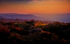 Surprise View (neil 36) Tags: surpriseview sunset hazysunset derbyshireengland peakdistrictnationalpark floraltribute
