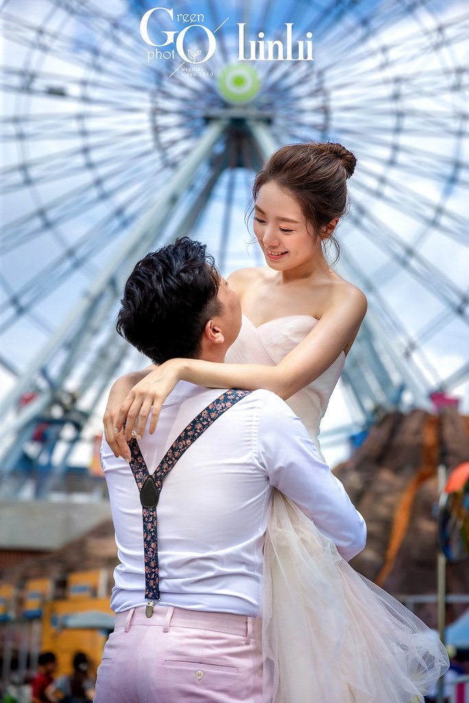 綠攝影像-兒童樂園婚紗