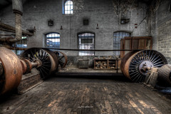 Belt-Drive (Fine ArtFoto) Tags: sonya7riii urbex artfoto gestern dream wwwfineartfotocom urban exploration urbexart urbandecay lost place lostplaces lostplace decay decaying discard discarded old oblivion alt abandoned forgotten vergessen verlassen derelict aufgegeben rotten verottet dampmaschine maschinenhalle steam engine hall power flywhells belts belt drive riemenantrieb antrieb riemen beltdrive riemantrieb