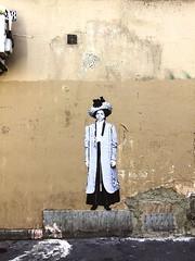 rue Ernestine (Leo & Pipo) Tags: leo pipo paris streetart street art artwork collage affiche poster paste pasteup wheatpaste cut paper urbain urban city ville rue mur wall sticker stencil tag graffiti france retro vintage analog handmade mixed media dada surreal leoetpipo leoandpipo leopipo