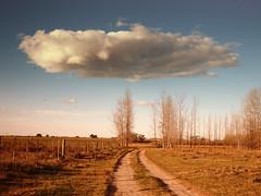 (Walter Daniel Fuhrmann) Tags: campo countryside nubes clouds cielo sky camino path