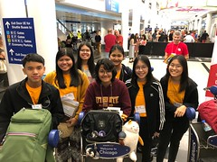 (AFS-USA Intercultural Programs) Tags: afs usa study abroad 2019 arrivals thailand airport thai students group