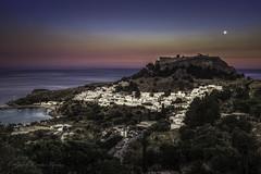Lindos (Askjell) Tags: aegeansea fortress greece greek hellenistic knightshospitaller knightsofstjohn lindos rhodes rhodos medieval