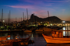 Crepúsculo na mureta da Urca - RJ (mariohowat) Tags: muretadaurca urca riodejaneiro natureza canonm3 brasil brazil crepúsculo noite noturnas longaexposição