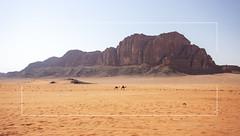 the travellers (Hansoul0) Tags: desert jordan camels mountain trekking