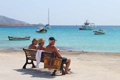 IMG_2697 (Maria Tziora) Tags: koufonisia panokoufonisi cyclades sea port beach greece holiday vacation islands tourism camping outside water aegeansea sky blue landscape