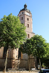 Sangerhausen: Evangelische Jacobikirche (Helgoland01) Tags: sangerhausen sachsenanhalt deutschland germany kirche church gotik gothic