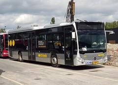NLD Qbuzz 3343 ● Groningen Peizerweg (Roderik-D) Tags: qbuzz33273368 2016 dieselbus euro6 mercedesbenz citaro3 o530ü isri cruisecontrol überlandbus streekbus 2axle 2doors ivu gorba 3343 32bhr2