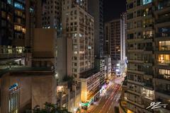Street View (TVZ Photography) Tags: hdr highdynamicrange hongkong hongkongisland road towers flats building city cityscape skyline night evening lowlight longexposure sonya7riii zeiss loxia 21mm