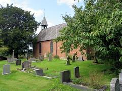 Petton Church, Shropshire (Maycot2) Tags: church petton graveyard shropshire redbrick