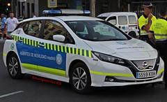Agentes de Movilidad (emergenciases) Tags: emergencias españa 112 madrid comunidaddemadrid ayuntamientodemadrid vehículo agentesdemovilidad vehículoeléctrico nissan leaf