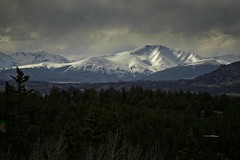 Snow in the Mountains (wfgphoto) Tags: snow mountains clouds cold