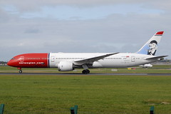 LN-LNI Boeing 787-9 Norwegian (eigjb) Tags: dublin airport eidw ireland collinstown plane spotting aviation aircraft airplane aeroplane airliner jet transport lnlni boeing 7879 norwegian b787 787 dreamliner greta garbo