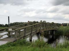 the bridge over the twiske creek (andrevanb) Tags: amsterdam twiske outdoors nature meadows road trip wild life death camino path cows bridge adventure danger victory
