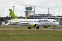 A56A4235@L6 (Logan-26) Tags: airbus a220300 ylaas msn 55054 air baltic riga international rixevra latvia airport aleksandrs čubikins
