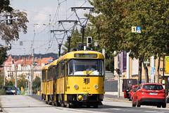 T4D-MT 224 201, Dresden (rengawfalo) Tags: tram tramway dresden tatra t4d sachsen saxony strasenbahn train railroad bahn dvbag tranvia tramvaj ckd elektricka öpnv tramwaj sporvogn road car city urbanrail publictransport windshield sky 201
