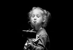 The selfie (Robin Wechsler) Tags: portrait selfie girl child monochrome blackandwhite