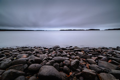 Silence (Rico the noob) Tags: dof d850 15mm landscape nature water outdoor lake clouds longexposure mf beach tree travel forest published trees sky manualfocus 2018 coast finland 15mmf24