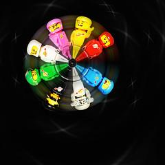 LEGO Classic Space (weeLEGOman) Tags: lego classic space spaceman spaceship red yellow pink white green black grey gray blue benny kenny jenny lenny eve zombie minifigure minifigures figbarf fig barf movie macro photography uk nikon d7100 105mm robert rob trevissmith