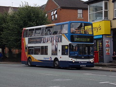 Stagecoach TransBus Trident (TransBus ALX400) 18151 PX04 DPE (Alex S. Transport Photography) Tags: bus outdoor road vehicle stagecoach stagecoachmidlandred stagecoachmidlands alx400 alexanderalx400 dennistrident trident transbustrident transbusalx400 route14 18151 px04dpe