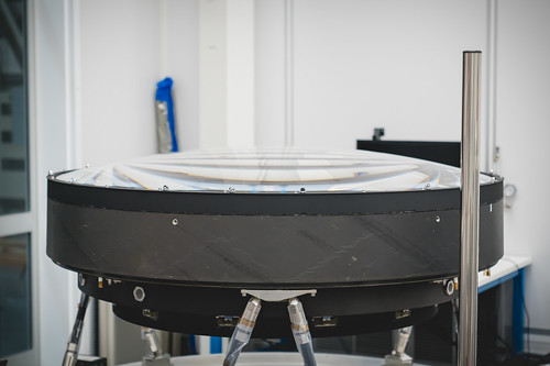 The LSST Camera Lens is here!