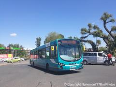MX13ANR 3801 Arriva Midlands East in Nuneaton (Nuneaton777 Bus Photos) Tags: arriva midlands east wright pulsar mx13anr 3801 nuneaton