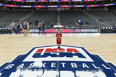 2019_T4T_USAB LV Game_Professional Photos 1 (TAPSOrg) Tags: taps tragedyassistanceprogramsforsurvivors teams4taps usab usabasketball lasvegas nevada practice 2019 military indoor redshirt group kids children basketball horizontal posed