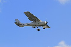 G-USAA Cessna 150 Coventry 08-09-2019 (cvtperson) Tags: gusaa cessna 150 coventry airport cvt egbe