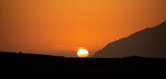 Iceland summer sunset (Nils Croes) Tags: kjósarhreppur höfuðborgarsvæðið ijsland sun sunset outdoors tranquil landscape nature sky scenics mountain silhouette iceland canon 6d2