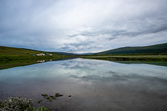 Northen Iceland Reflection (Nils Croes) Tags: þingeyjarsveit norðurlandeystra ijsland outdoors landscape water nature tranquil scene felection cloud clouds sky canon 6d2