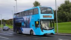 33434 SN66WGE First Glasgow (busmanscotland) Tags: 33434 sn66wge first glasgow sn66 wge ad adl alexander dennis e40d enviro 400 mmc enviro400