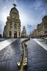 Gran Via de Madrid. (Ramirez de Gea) Tags: madrid granviademadrid d7000 street