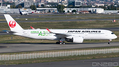 Japan Airlines A350-941 msn 343 (dn280tls) Tags: a350 japan airlines a350941 msn 343 fwzge ja03xj